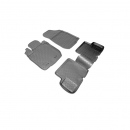 SET COVORASE AUTO CAUCIUC FIT DACIA LOGAN (2006-) - 5 PCS